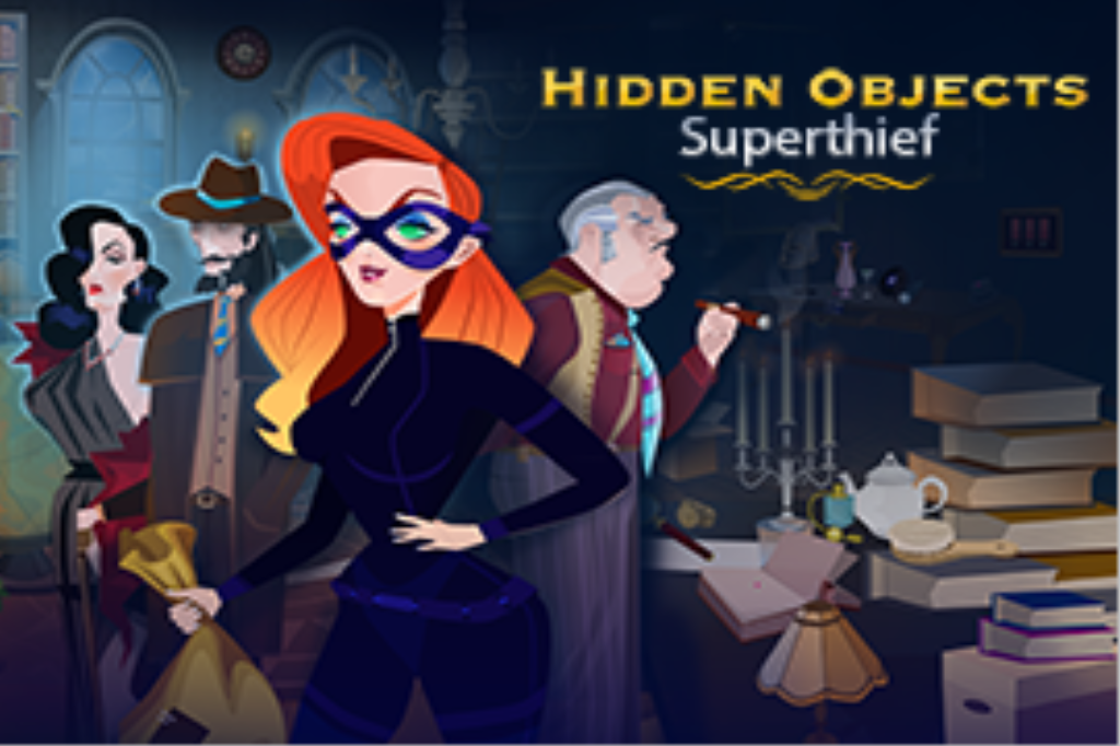 Hidden Objects Superthief