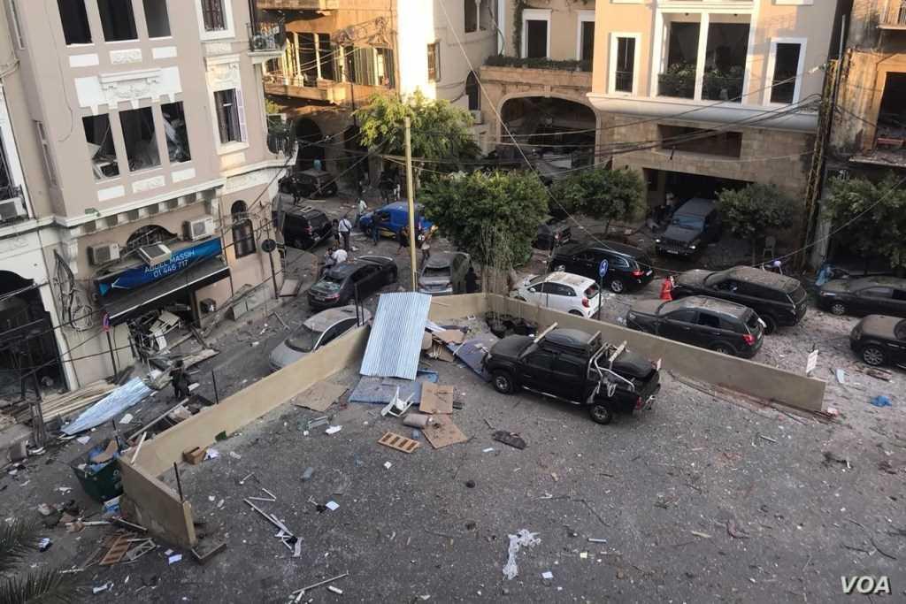 Liban, kraj już umęczony, teraz ofiara tragedii