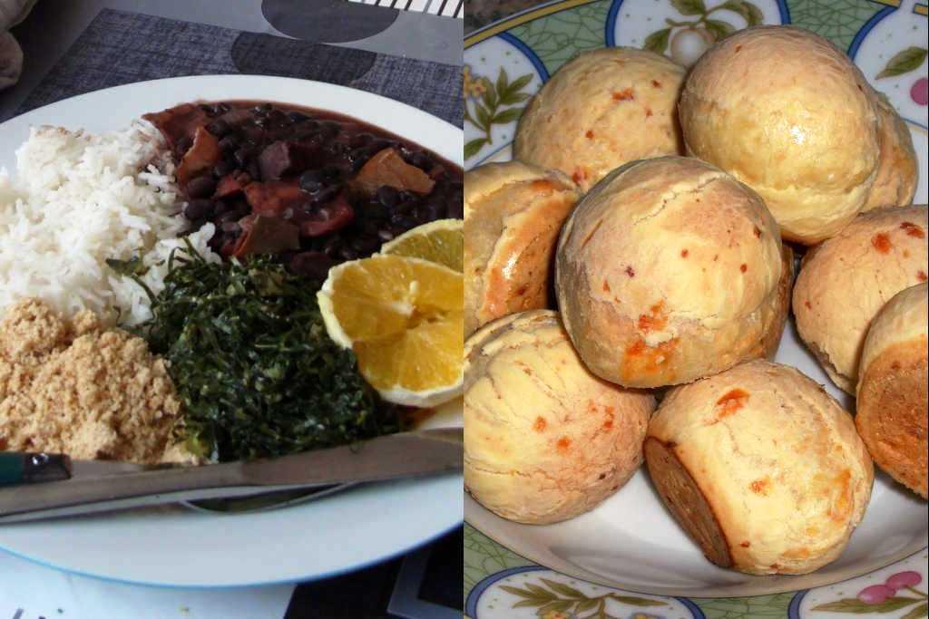 Ricetta di pane al formaggio brasiliano e fagiolata brasiliana