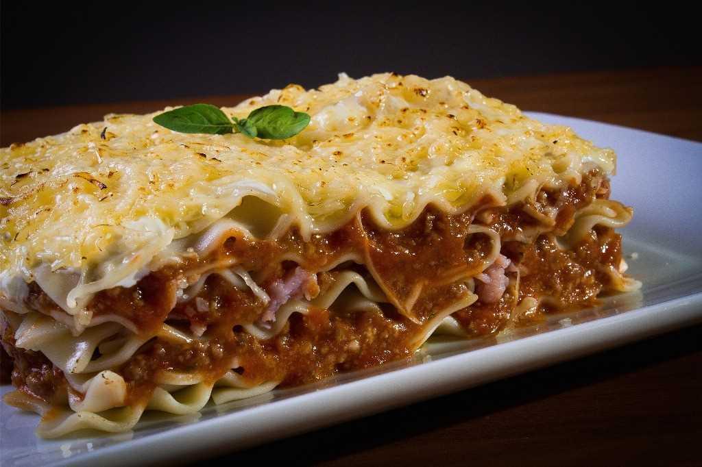 Gebackene Lasagne Rezept